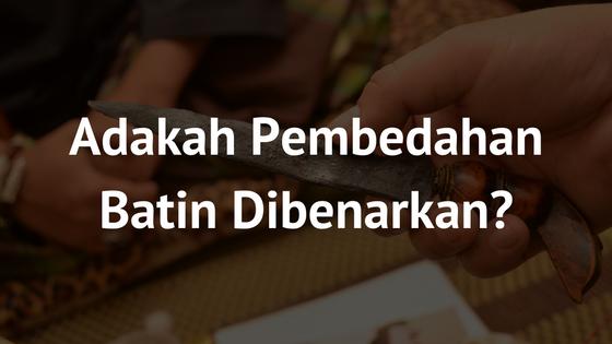 Pembedahan Batin Dalam Penilaian Islam